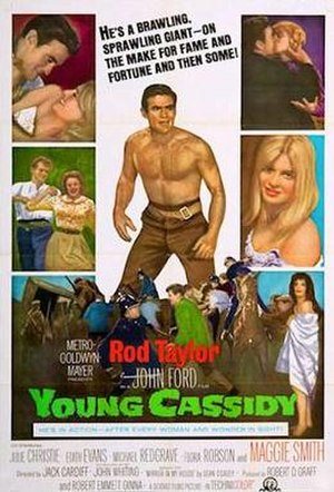 Young Cassidy - 1966 Theatrical Poster