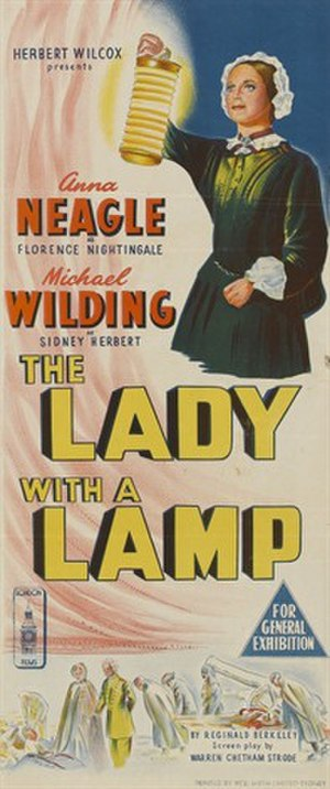 The Lady with a Lamp - Australian daybill poster