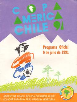 1991 Copa América logo.png