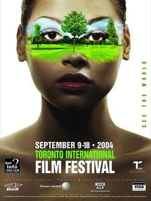 2004 Toronto International Film Festival - Festival poster