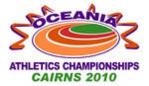 2010 Oceania Athletics Championships - Image: 2010 Oceania Championships Logo