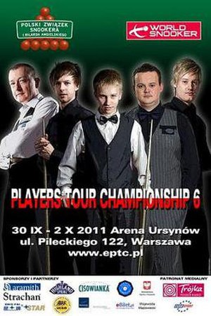 Players Tour Championship 2011/2012 – Event 6 - Image: 2011 Warsaw Classic poster