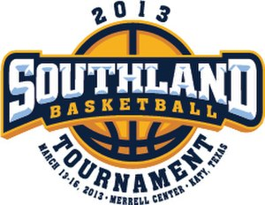 2013 Southland Conference Men's Basketball Tournament - Tournament logo