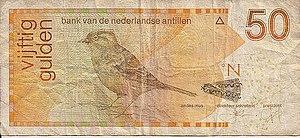 Netherlands Antillean guilder - Image: 50NAFl