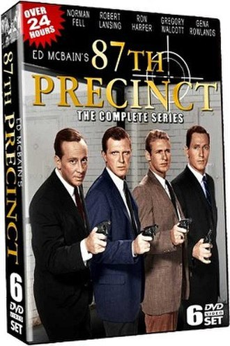 87th Precinct (TV series) - Complete Series DVD cover