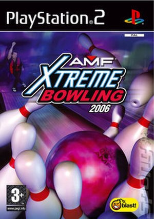 AMF Xtreme Bowling 2006 - European PS2 Cover