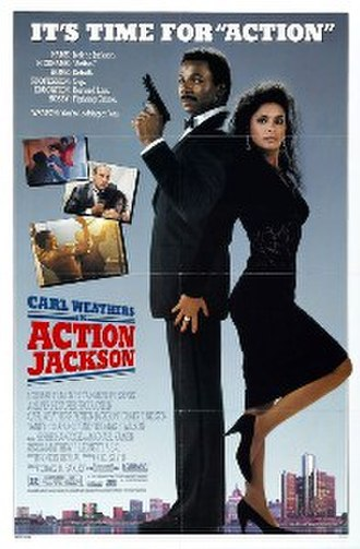 Action Jackson (1988 film) - Theatrical release poster