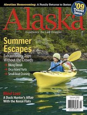 Alaska (magazine) - February 2009 cover of Alaska