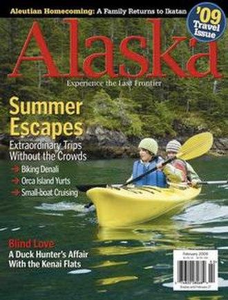 Alaska (magazine) - February 2009 cover of Alaska