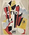 Albert Gleizes, Action, Cahiers Individualistes de philosophie et d'art, Volume 1, No. 1, February 1920.jpg