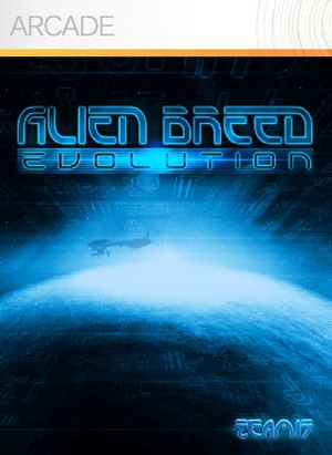 Alien Breed Evolution - Image: Alien Breed Evolution Cover