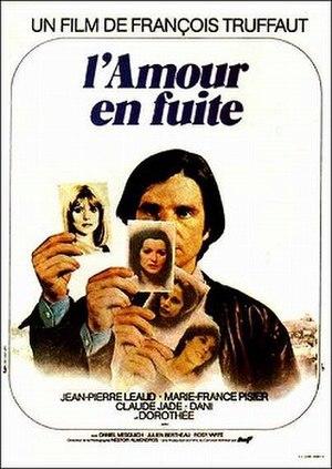 Love on the Run (1979 film) - Original film poster