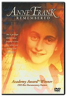 <i>Anne Frank Remembered</i> 1995 television film directed by John Blair Jr.