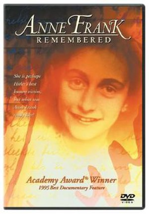 Anne Frank Remembered - DVD cover