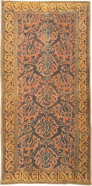 Alcaraz rug - Antique Alcaraz Rug