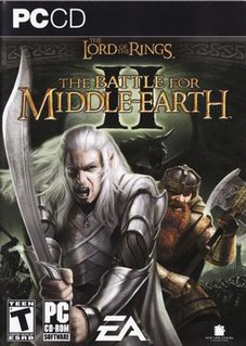 <i>The Lord of the Rings: The Battle for Middle-earth II</i> video game