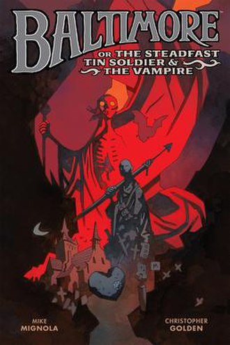Baltimore (comics) - The cover for Dark Horse's release of the novel in paperback