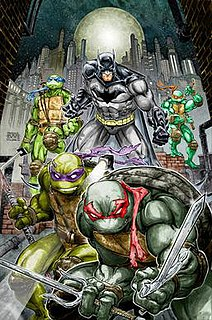 <i>Batman/Teenage Mutant Ninja Turtles</i> American comic