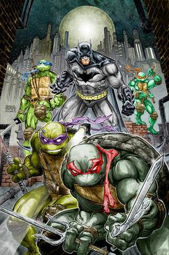 Batman/Teenage Mutant Ninja Turtles - Image: Batman TMNT 1