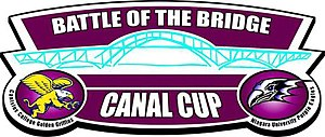 Battle of the Bridge (Canisius–Niagara) - Image: Battle of the Bridge logo