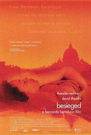 Besieged (film) - Theatrical release poster
