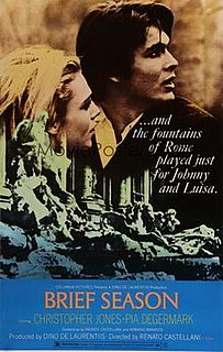 <i>Brief Season</i> 1969 film directed by Renato Castellani