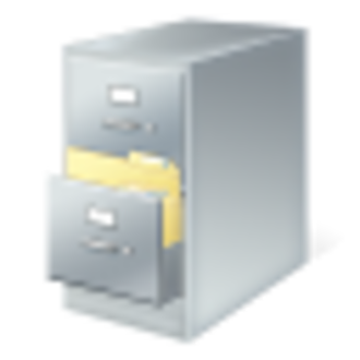 Cabinet (file format) - Image: Cab file format icon