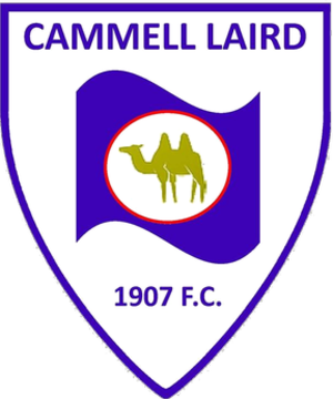 Cammell Laird 1907 F.C. - Image: Cammell Laird FC logo