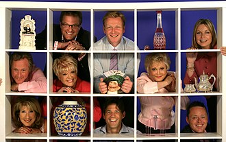 Cash in the Attic - June 2008: the hosts and experts for series fifteen.