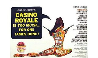 1967 James Bond spy comedy film