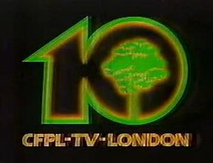 CFPL-DT - CFPL-TV logo from 1982-1993.