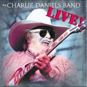 Live! (The Charlie Daniels Band album) - Image: Charlie Daniels live record