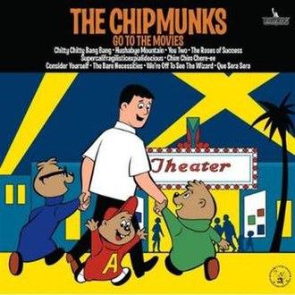 The Chipmunks Go to the Movies - Image: Chipmunksgotothemovi esalbum