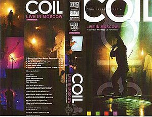 Live in Moscow (Coil video) - Image: Coilliveinmoscowvhs