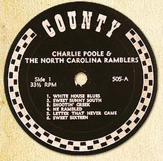 County Records - Image: County Records Label