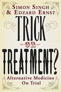 <i>Trick or Treatment?</i> book by Simon Singh