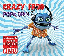 Crazy Frog - Popcorn CD cover.jpg
