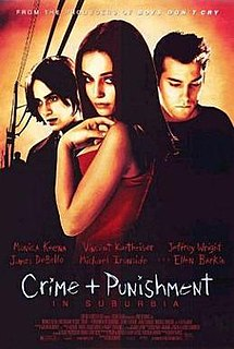 <i>Crime and Punishment in Suburbia</i> 2000 American film directed by Rob Schmidt