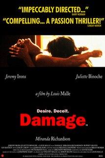 <i>Damage</i> (1992 film) 1992 British film