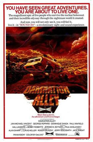 Damnation Alley (film) - Image: Damnation Alley 1977