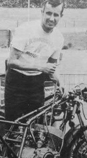 Dave Simmonds British motorcycle racer