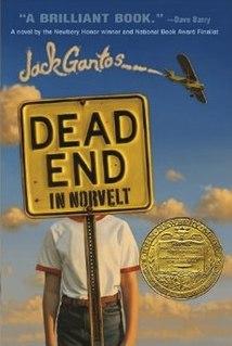<i>Dead End in Norvelt</i> book by Jack Gantos
