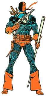 Deathstroke Fictional character throughout the DC Universe