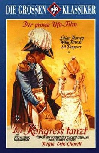 Der Kongreß tanzt - Image: Der Kongress tanzt (poster)