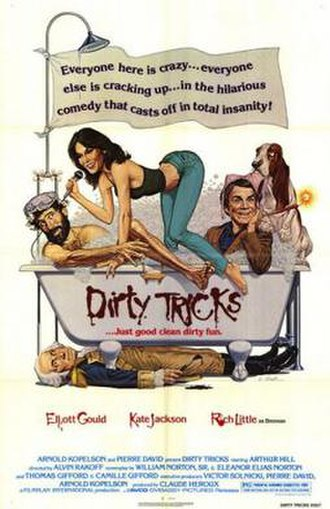 Dirty Tricks (film) - Theatrical release poster