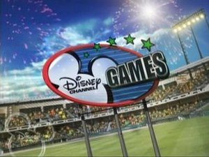 Disney Channel Games - Disney Channel Games logo (2007–08)