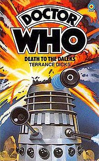Death to the Daleks, cover by Roy Knipe