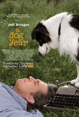 A Dog Year - HBO advertising poster