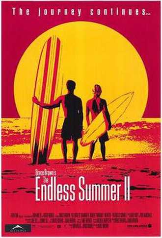 The Endless Summer II - Theatrical release poster