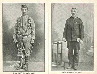 Darkie Hutton - Envoy 'Darkie' Hutton - before and after conversion
